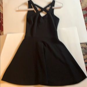 Sally Miller teen girl size xs black party dress